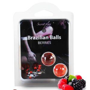 2 Brazilian Balls - baies rouges Secret Play