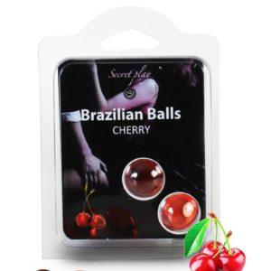 2 Brazilian Balls - cerise Secret Play