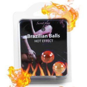 2 Brazilian Balls effet chaleur Secret Play