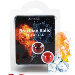 2 Brazillian balls effet chaud & froid Secret Play