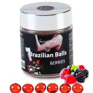 6 Brazilian Balls - baies rouges Secret Play