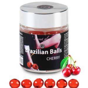 6 Brazilian Balls - cerise Secret Play