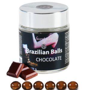 6 Brazilian Balls - chocolat Secret Play