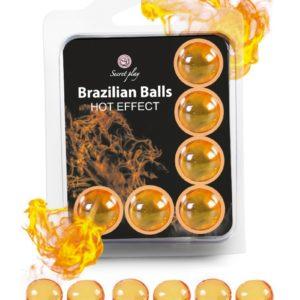 6 Brazilian Balls - effet chaleur Secret Play