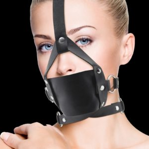 Baillon Leather Mouth Gag - Ouch Ouch!