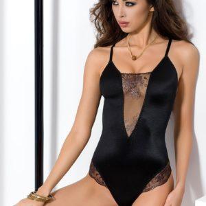 Body Brida Passion lingerie Noir S/M