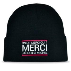 Bonnet Jacquie et Michel - noir Jacquie & Michel