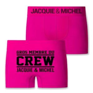 Boxer J&M Crew Jacquie & Michel S/M