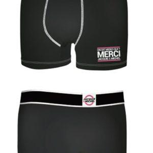 Boxer J&M en coton - Noir 1 Jacquie & Michel Small