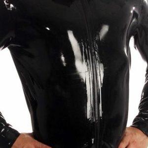 Veste Zip Jacket latex Honour Noir Small